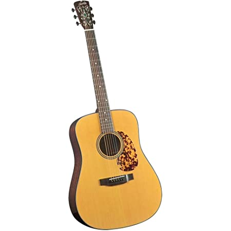 Blueridge Guitars 6 String Acoustic Guitar, Right Handed, Dreadnaught Sitka (BR-140)