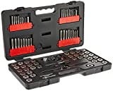 GEARWRENCH 75 Pc. Ratcheting Tap and Die Set, SAE/Metric - 3887
