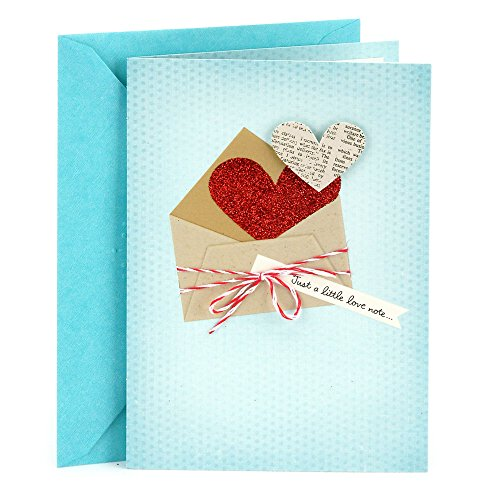 Hallmark Everyday Love Card, Romantic Birthday Card, Anniversary Card, Valentines Day Card (Love Note)