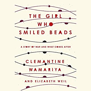 The Girl Who Smiled Beads audiobook cover art