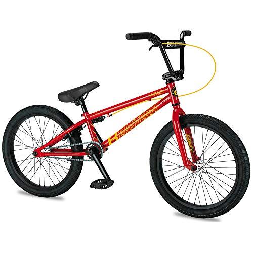 Eastern Bikes Eastern BMX Bikes - Lowdown Model Boys and Girls 20 Inch Bike. Lightweight Freestyle Bike Designed by Professional BMX Riders at (Red)