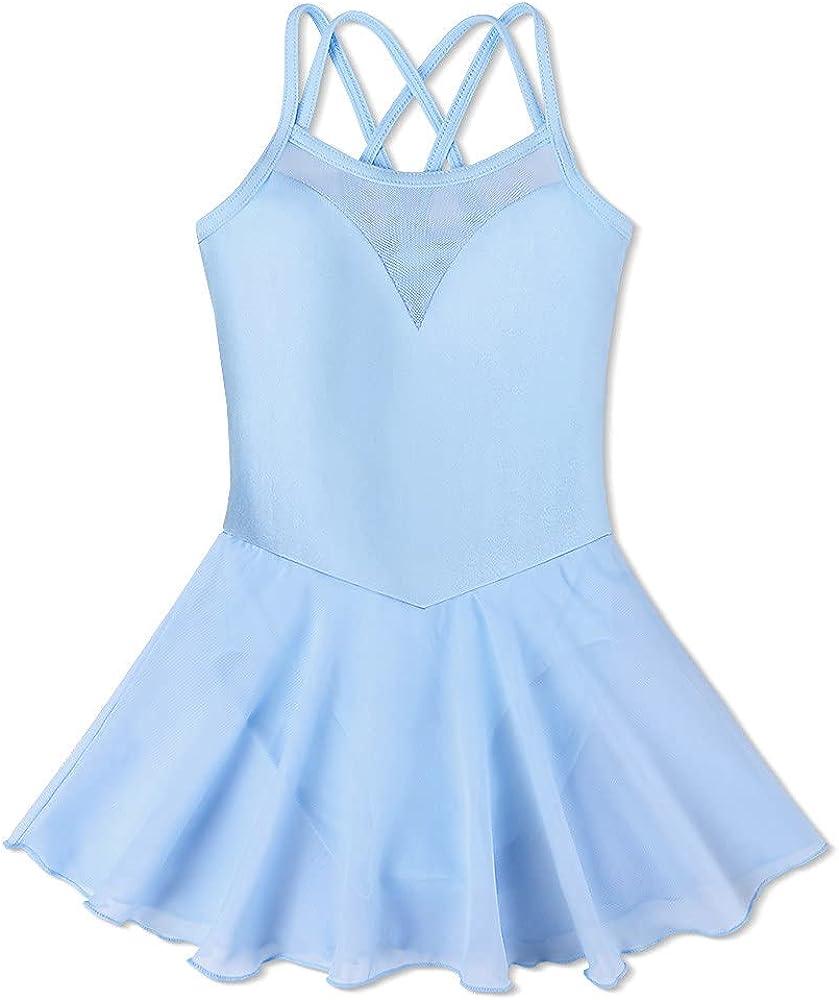 Special price Children's Superlatite Ballet Skirt Dance Clothes Pink Ballerina Girls Dress
