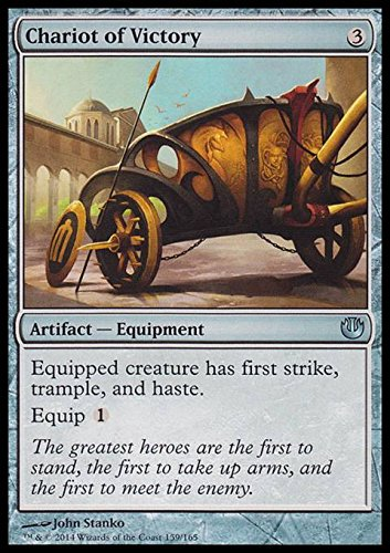 Magic The Gathering - Chariot of Victory (159/165) - Journey into Nyx