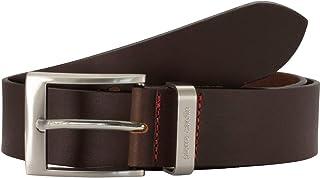 Pierre Cardin Men's Leather Belt/Men's Belt, leather belt, black