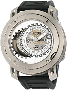 Ritmo Mundo Men's 202 TIT Persepolis Dual-Time Exhibition Automatic Watch image