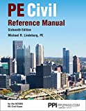 """PPI PE Civil Reference Manual, 16th Edition €"""" Comprehensive Reference Manual for the NCEES PE Civil Exam"""