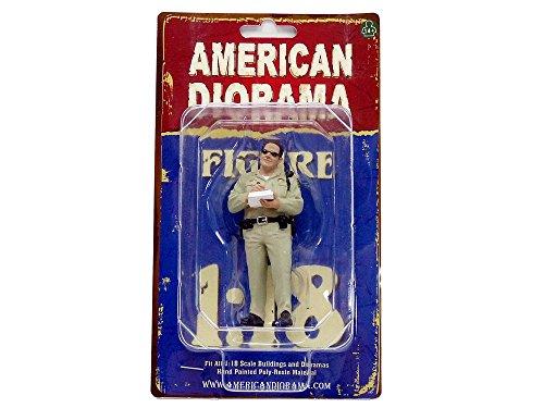 American Diorama 77463 Figurine Police Série Highway Patrol - 1 - Echelle 1/18