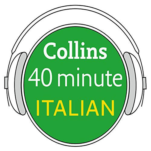 Italian in 40 Minutes audiobook cover art