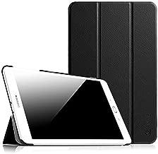 """Fintie Samsung Galaxy Tab E 9.6 Étui Housse - Slim Fit PU Cuir étui Coque Case Cover avec Support Ultra-Mince et Léger pour Samsung Galaxy Tab E 9,6"""" T560N / T561N (9.6 Pouces), Noir"""