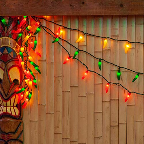 Chili Pepper String Lights Multi Colors Ideal for Kitchen Decoration