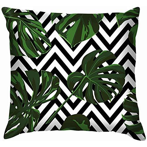 NA Tropische print jungle schoonheid mode natuur zachte kussenslopen kussenslopen kussen wooncultuur