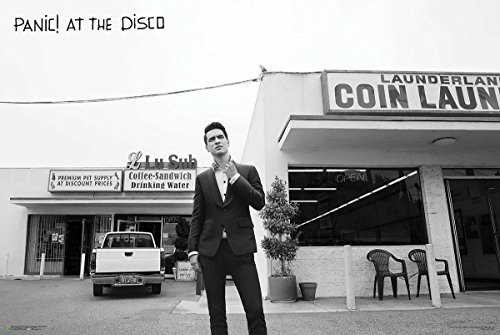 Close Up Panic! at The Disco Poster Brendon Laundromat (91,5cm x 61cm)