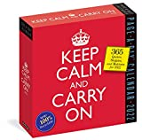 Keep Calm and Carry On Page-A-Day Calendar 2022: 365 Quotes, Slogans, and Mottos for 2022.