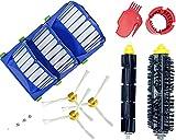 Set Accessori Ricambio Kombi Compatibile per iRobot Roomba 600 Serie Aspirapolvere, Accessorio Ricambio Robot Serie 600 Spazzole Rullo Filtri