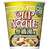 日清 カップヌードル リッチ 参鶏湯味 69g ×12個