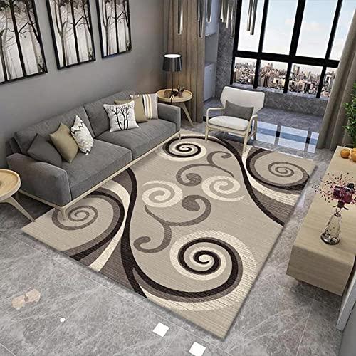 Alfombra de área grande estilo nórdico para sala de estar,...