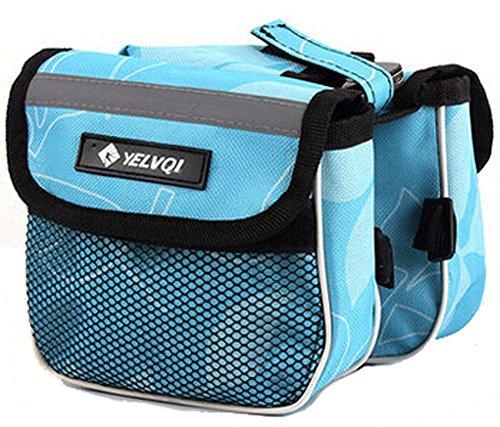 Packs Bike Pack Accessoires Riding Bike Accessoires d'équipement de Bleu