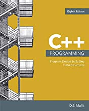 Bundle: C++ Programming: Program Design Including Data Structures, 8th + MindTap Computer Science, 1 term (6 months) Printed Access Card for Malik's ... From Problem Analysis to Program Design, 8th