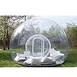 SKLLA Tienda Inflable de la Burbuja, Transparente al Aire Libre Solo túnel Familia Camping Patio Trasero con 3 tamaños