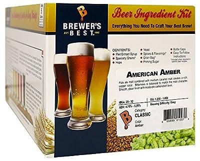 American Amber Homebrew Beer Ingredient Kit