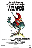 Wizards (Peace) Movie Poster - 24' X 36' This is a Certified Poster Office Print with Holographic Sequential Numbering for Authenticity.