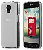 Clear Frost Rubberized TPU Skin CASE Cover for Boost Mobile LG Volt LS740