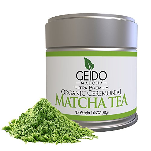 PREMIUM ARTISANAL GRADE – When you want the best Matcha on the market, Geido Matcha Green Tea Powder is ceremonial-grade, traditionally crafted for use in prestigious tea ceremonies and unforgettably delicious. HEALTHY WEIGHT LOSS – Great for your he...