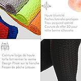 Zoom IMG-2 fittoo leggings sportivi tasche laterali