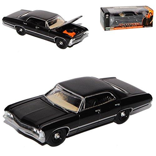 Greenlight Chevrolet Impala Limousine Schwarz 1967 Supernatural Join The Hunt 1/64 Modell Auto