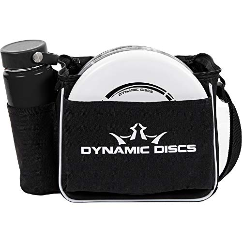 Dynamic Discs Cadet Disc Golf Bag | Introductory Disc Golf Bag | Great for Beginners and Casual Disc Golf Rounds | Lightweight and Durable Frisbee Golf Bag | 10-12 Disc Capacity… (Black)