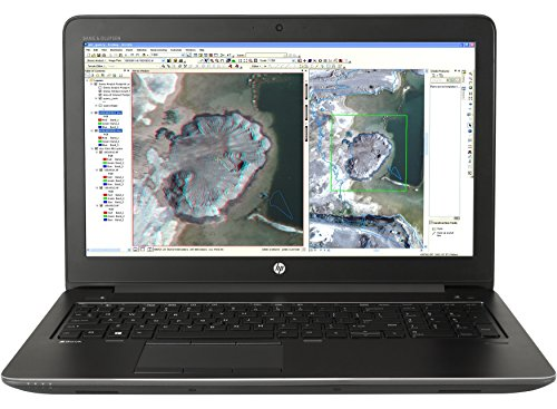 Price comparison product image HP Zbook 15 G3 Workstation 15.6in Notebook,  Windows,  Intel Core i7 2.6 GHz,  16 GB RAM,  512 GB SSD ,  Space Silver (X9V54UT ABA) (Renewed)