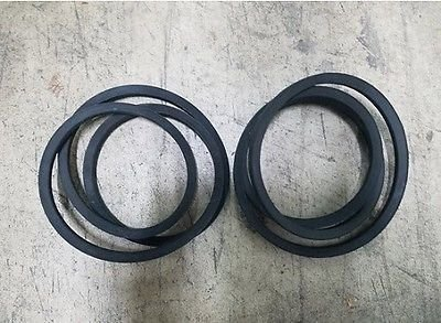 (2) Maschio 5' Finish Mower Belts Model Jolly 150 Part #00557022 USA Made!!!