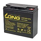 KungLong Batería Plomo para Silla de Ruedas Eléctrica Invacare Lynx SX-3