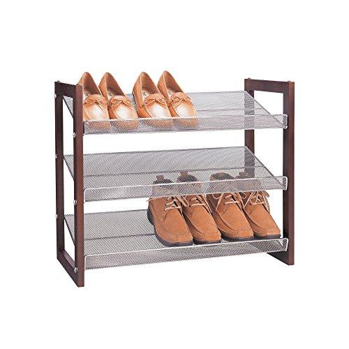 Organiser Toutes Ces Boston 3 étages Shoe-Shelf