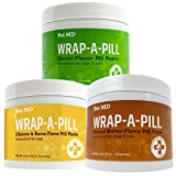 Pet MD Wrap-A-Pill Variety Pack - Peanut Butter Pill Paste, Cheese & Bacon, & Bacon Flavored Pill Paste for Dogs - 4.2 oz Each