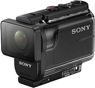 سوني اكشن كاميرا فل اتش دي ,1080P وضوح, 1x زووم بصري, اسود - HDR-AS50R