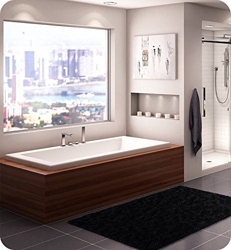 %29 OFF! NEPTUNE ZEN bathtub 36x66 with armrests and 1 top lip, Whirlpool/Mass-Air/Activ-Air, Ice g...