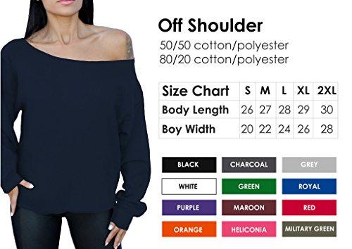 Awkwardstyles Jolliest Bunch Of Aholes Oversized Sweatshirt Off The Shoulder S Red