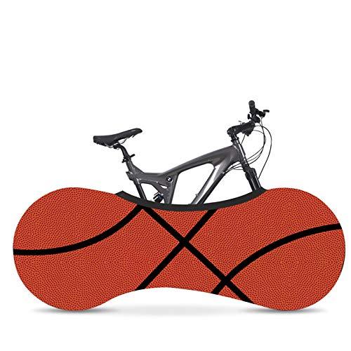 HVW Cubiertas para Bicicleta, Antipolvo Viento UV Cubierta para Rueda De Bicicleta Tela Elástica A Prueba De Suciedad Bolsa De Almacenamiento para Bicicleta De Montaña Y Carretera,K