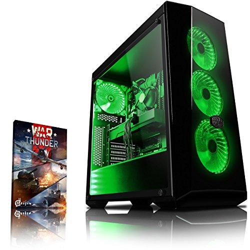 Vibox Genesis GR560-5 Gaming PC Desktop PC AMD athlon_64_fx 1000 HDD 8 NVIDIA GeForce GTX 1060 None Green
