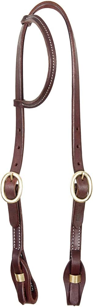 HILASON Western Horse One Ear American Leather Max 61% OFF Headstall Working In a popularity