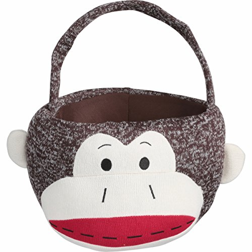 Sock Monkey Easter Basket!