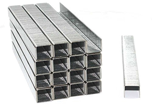 5000 Tackerklammern - Typ 53 - Maße/Größe wählbar - verzinkt/Heftklammern/Tacker-Klammern (Maße: 14/11,4)