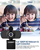 Zoom IMG-1 elegiant webcam web camera 1080p