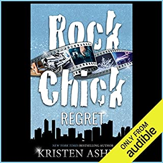 Rock Chick Regret audiobook cover art