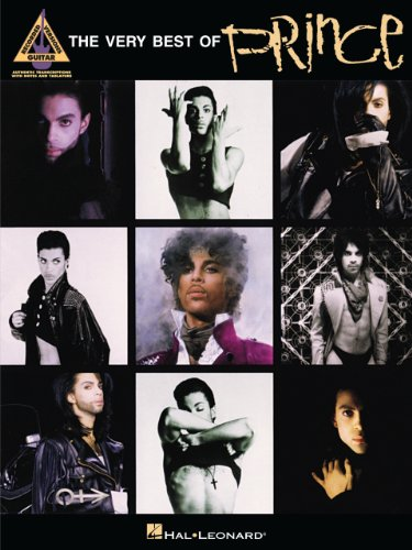 The Very Best of Prince Songbook (Guitar Recorded Versions)