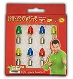 LED's für Weihnachtspullover - kinderleicht anzustecken