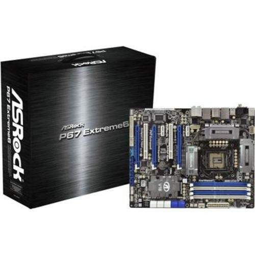 Asrock P67 Extreme6 Mainboard Sockel 1155 4X DDR3 Speicher ATX