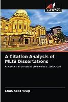 A Citation Analysis of MLIS Dissertations: Presentato all'Università della Malesia: 2000-2005