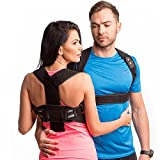 REDESIGNED Back Straightener Posture Corrector for Men-Upper Back Brace Posture for Women- Clavicle Brace Support-Body Wellness Posture Corrector Under Clothes-Spine Alignment (L-XL(32'-37.5'))
